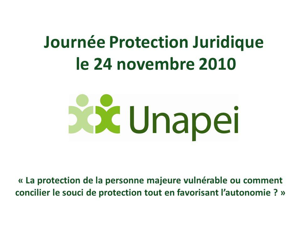 Journée Protection Juridique le 24 novembre 2010