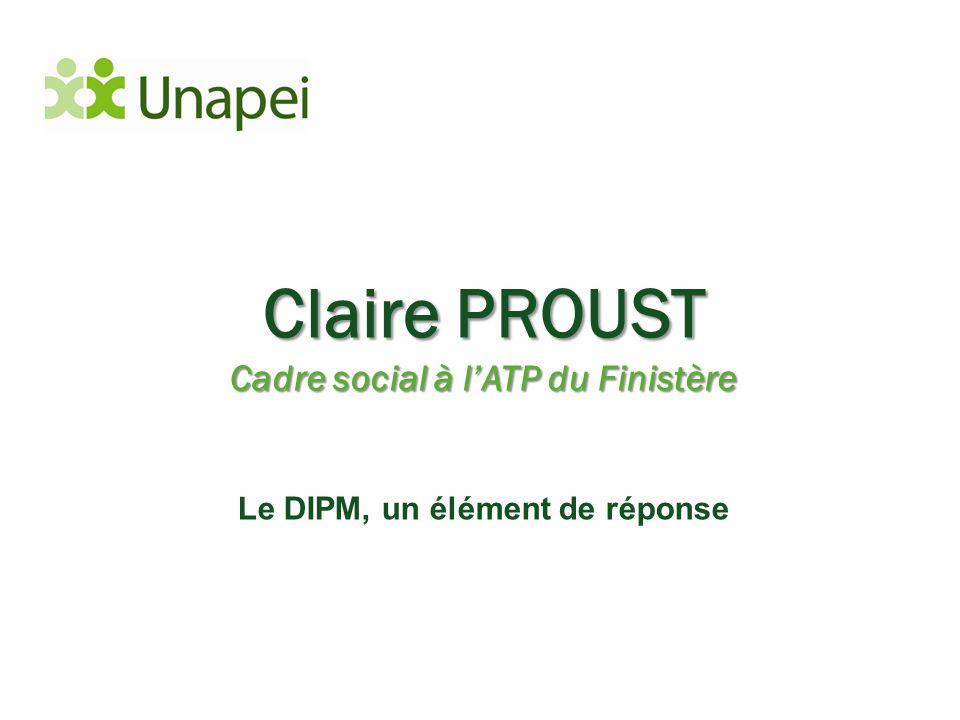 Cadre social à l'ATP du Finistère Le DIPM, un élément de réponse