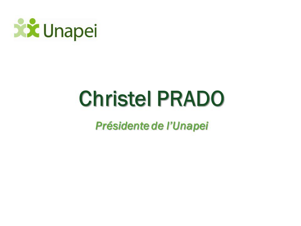 Présidente de l'Unapei