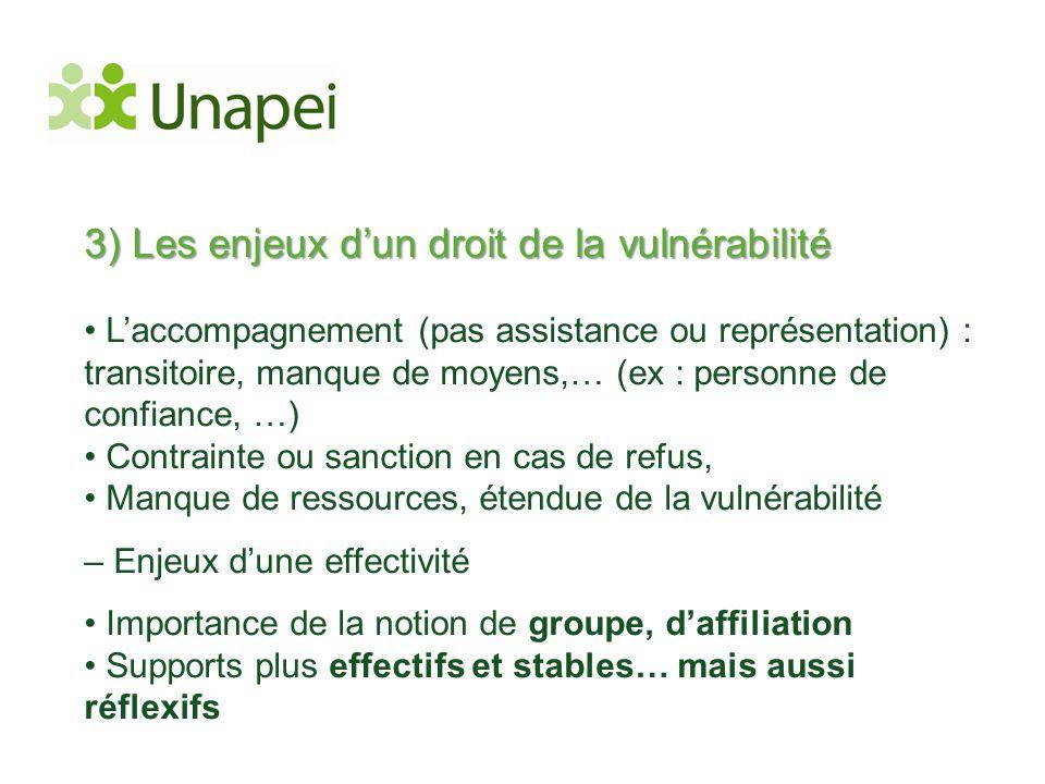 3) Les enjeux d'un droit de la vulnérabilité