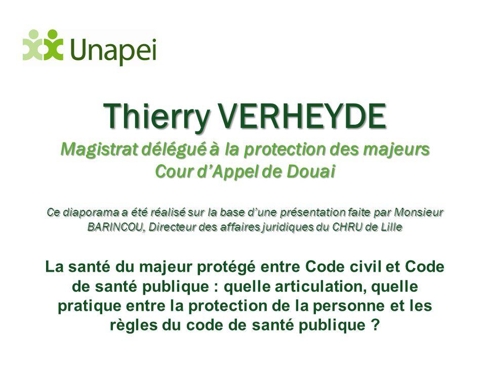 Magistrat délégué à la protection des majeurs Cour d'Appel de Douai