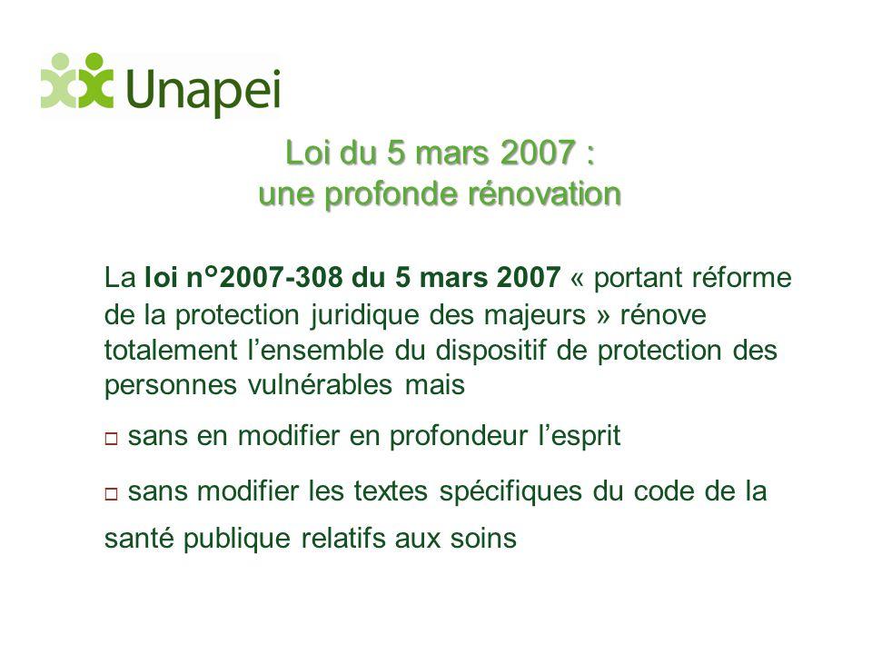Loi du 5 mars 2007 : une profonde rénovation