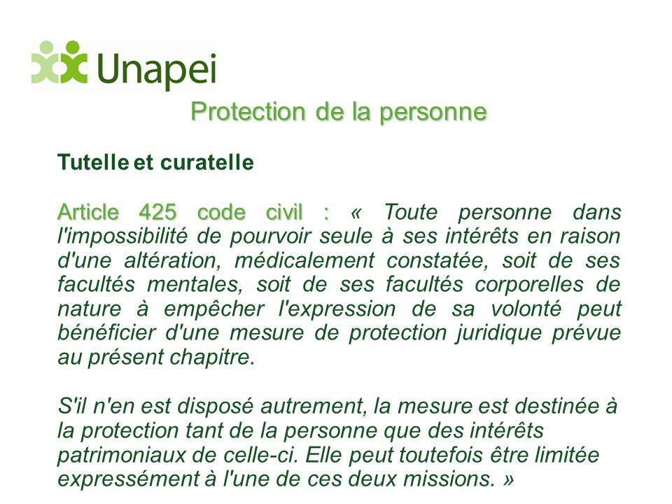 Protection de la personne