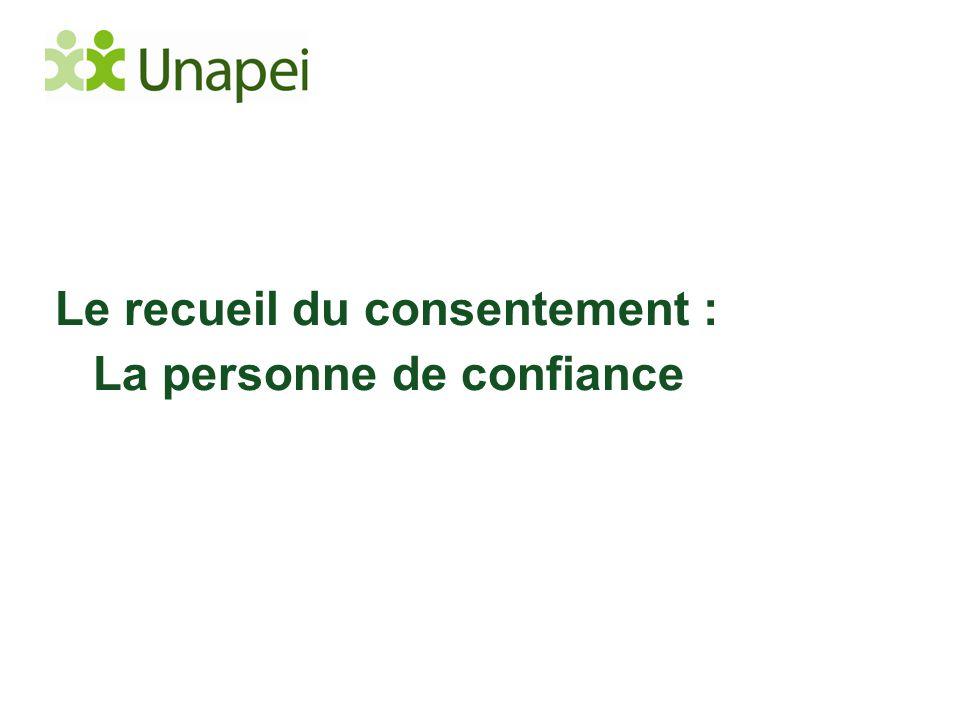 Le recueil du consentement :