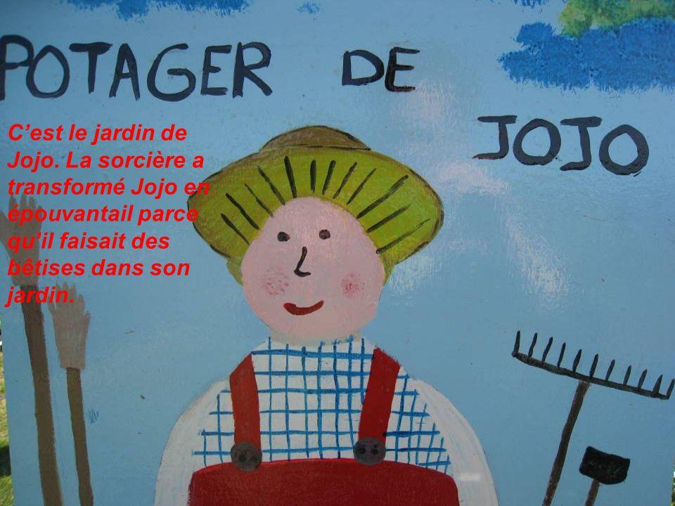 C'est le jardin de Jojo.