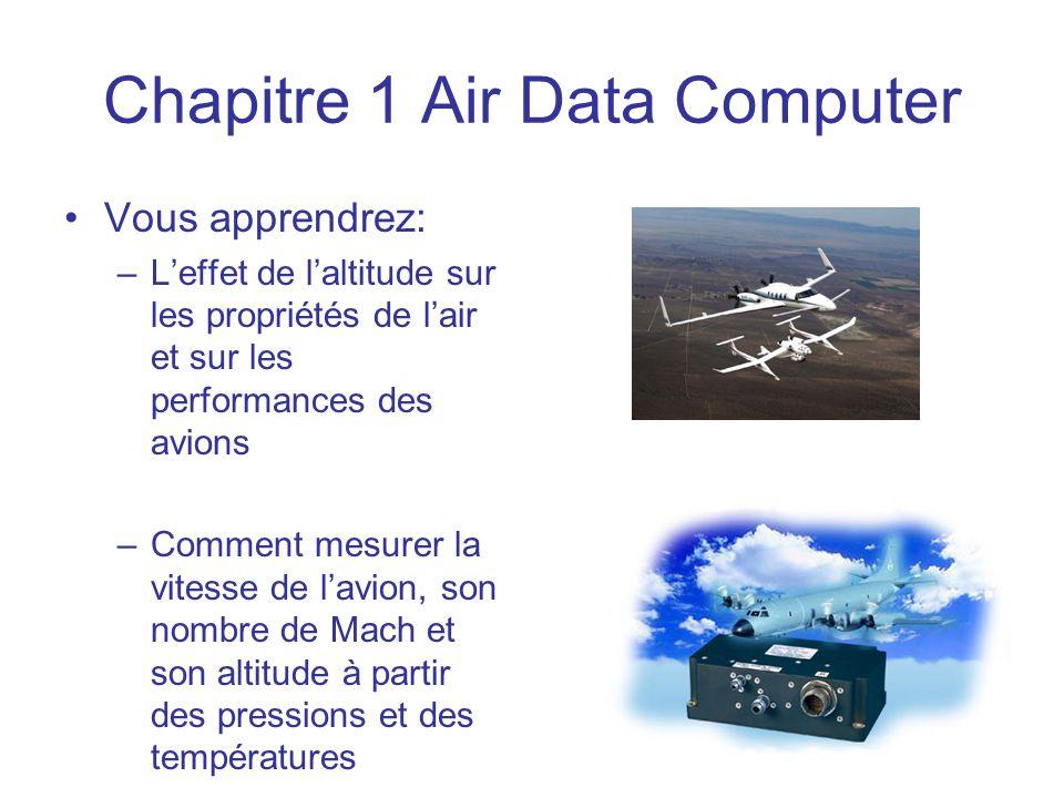Chapitre 1 Air Data Computer
