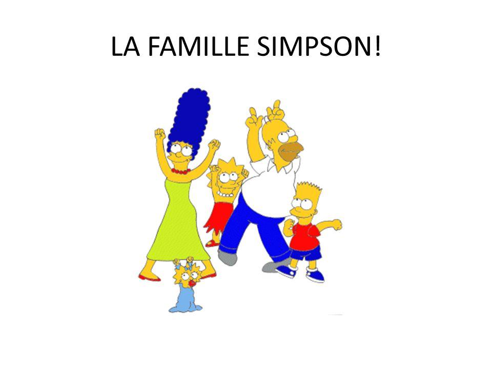 LA FAMILLE SIMPSON!