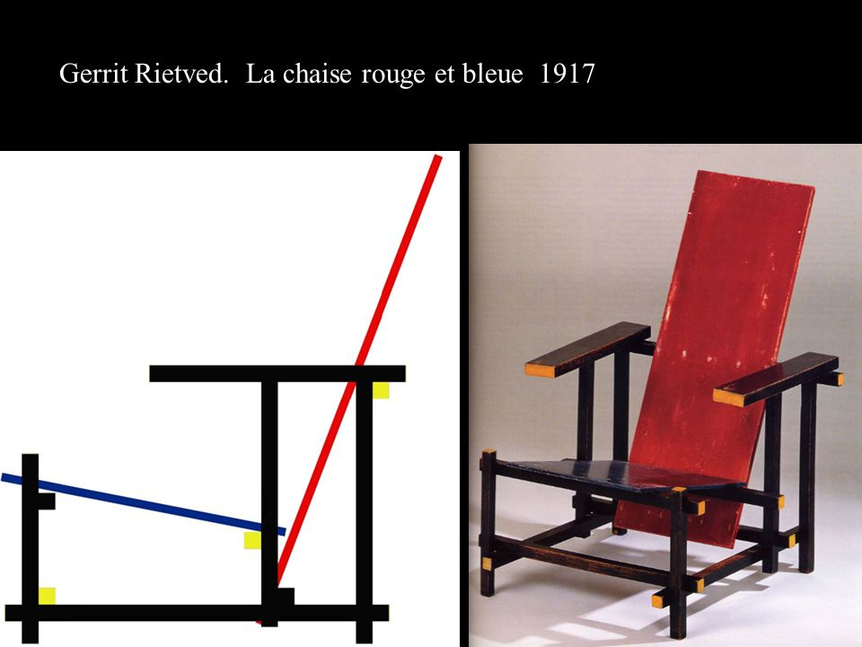 chaise rouge et bleue conceptions de maison. Black Bedroom Furniture Sets. Home Design Ideas