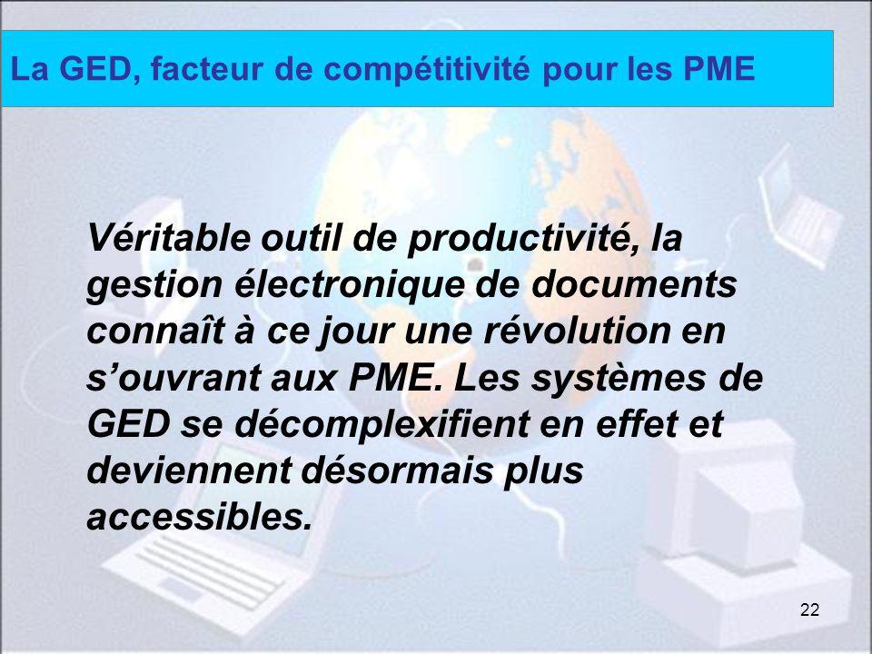La GED, facteur de compétitivité pour les PME