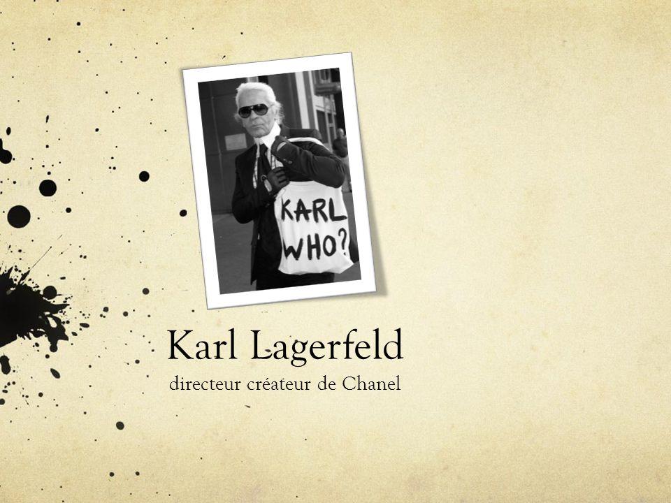 directeur créateur de Chanel