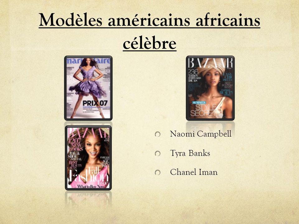 Modèles américains africains célèbre