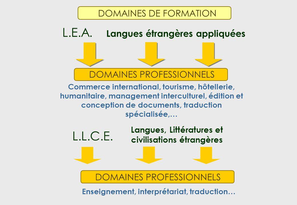 L.E.A. Langues étrangères appliquées