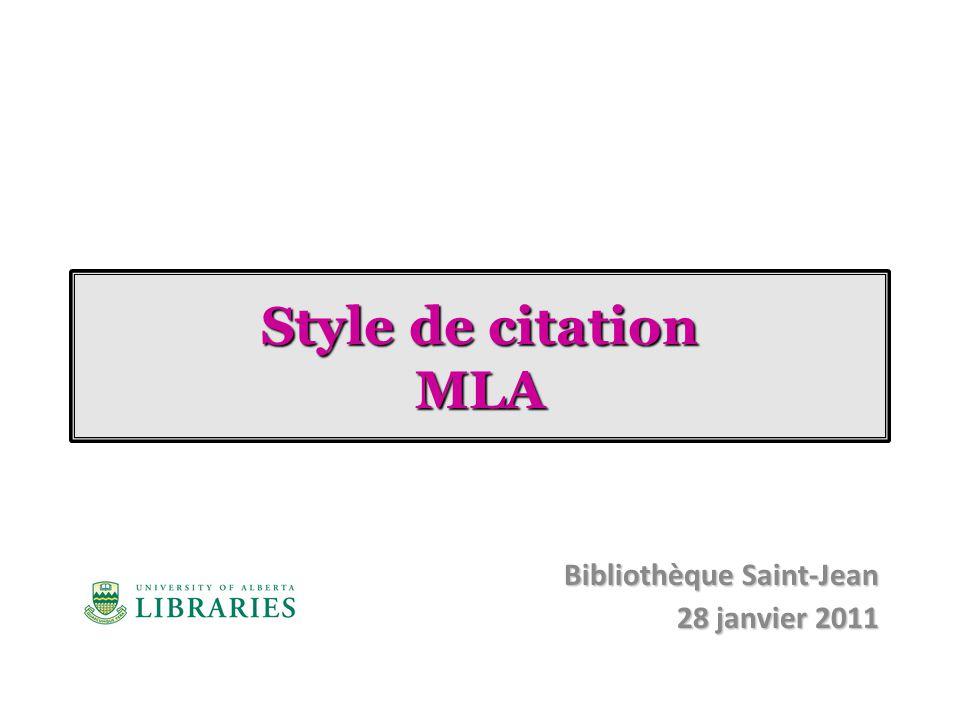 Bibliothèque Saint-Jean 28 janvier 2011