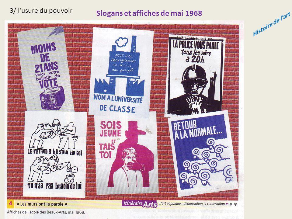 Slogans et affiches de mai 1968 Histoire de l'art