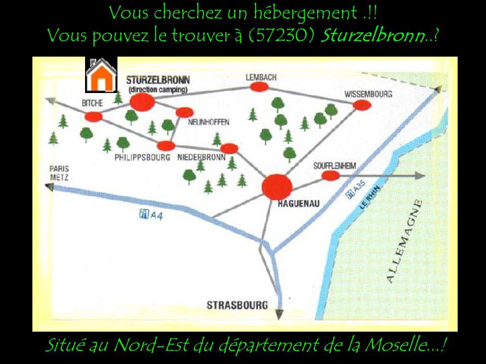 Situé au Nord-Est du département de la Moselle...!