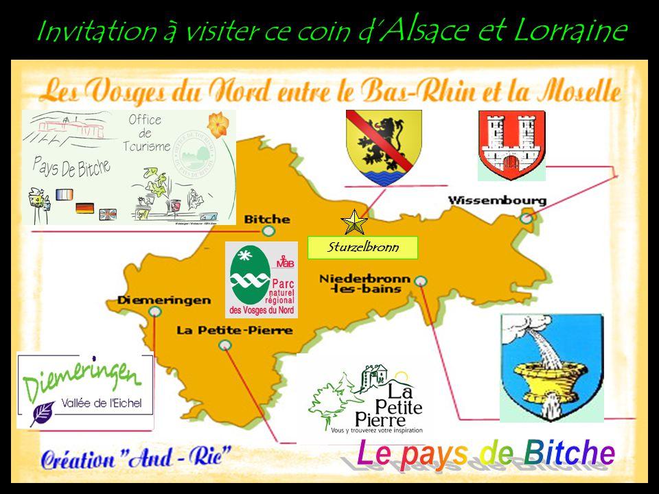 Invitation à visiter ce coin d'Alsace et Lorraine