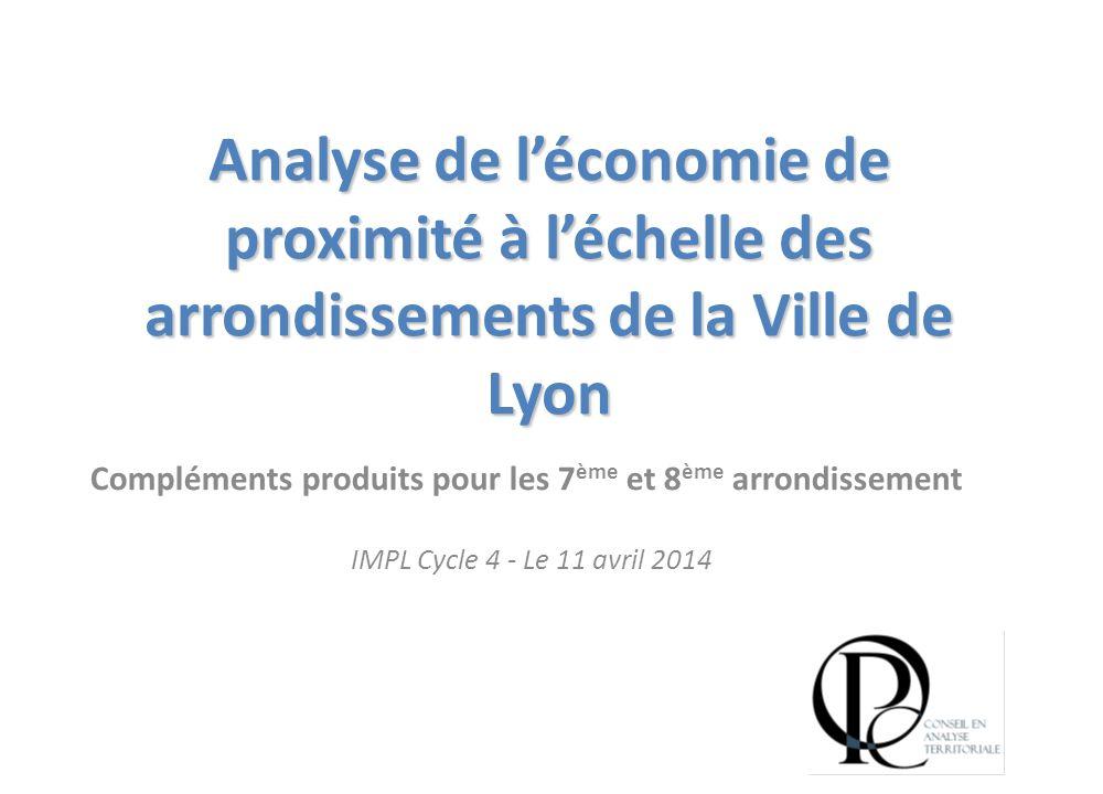 Compléments produits pour les 7ème et 8ème arrondissement