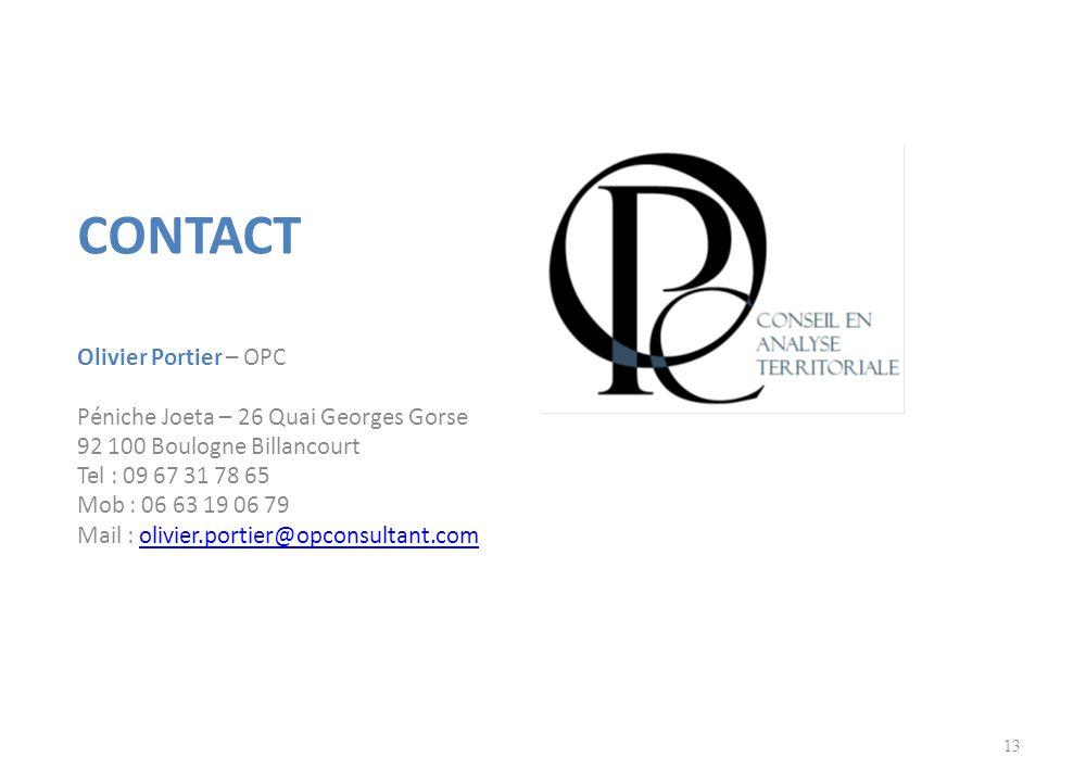 Contact Olivier Portier – OPC Péniche Joeta – 26 Quai Georges Gorse