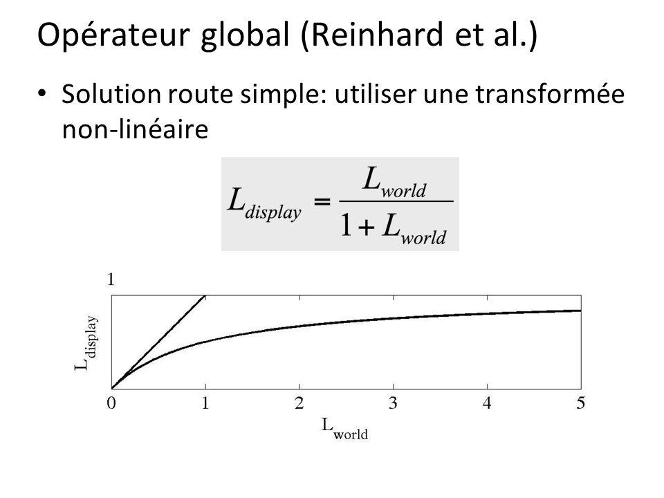 Opérateur global (Reinhard et al.)
