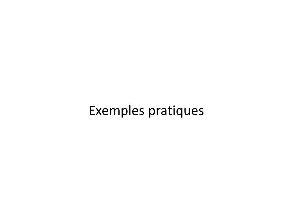 Exemples pratiques Égalisation d'histogrammes, travailler sur la luminance seulement (vs.