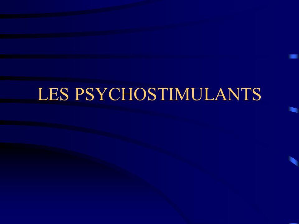 LES PSYCHOSTIMULANTS