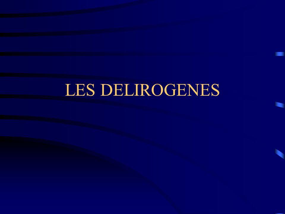 LES DELIROGENES