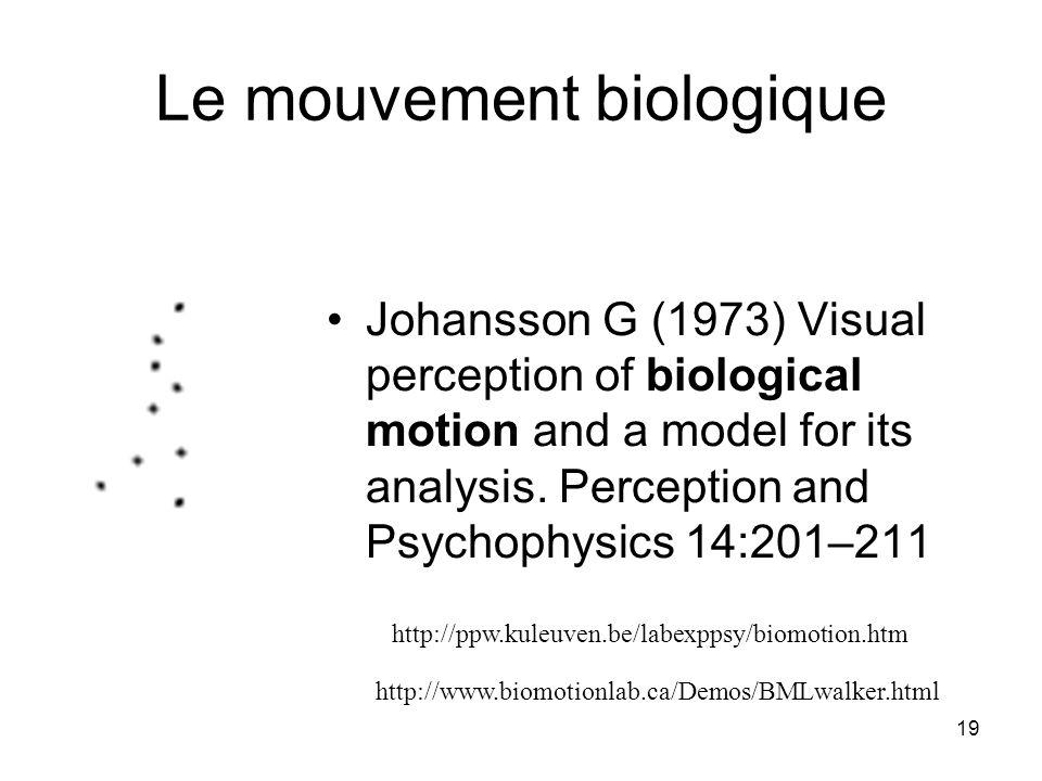 Le mouvement biologique