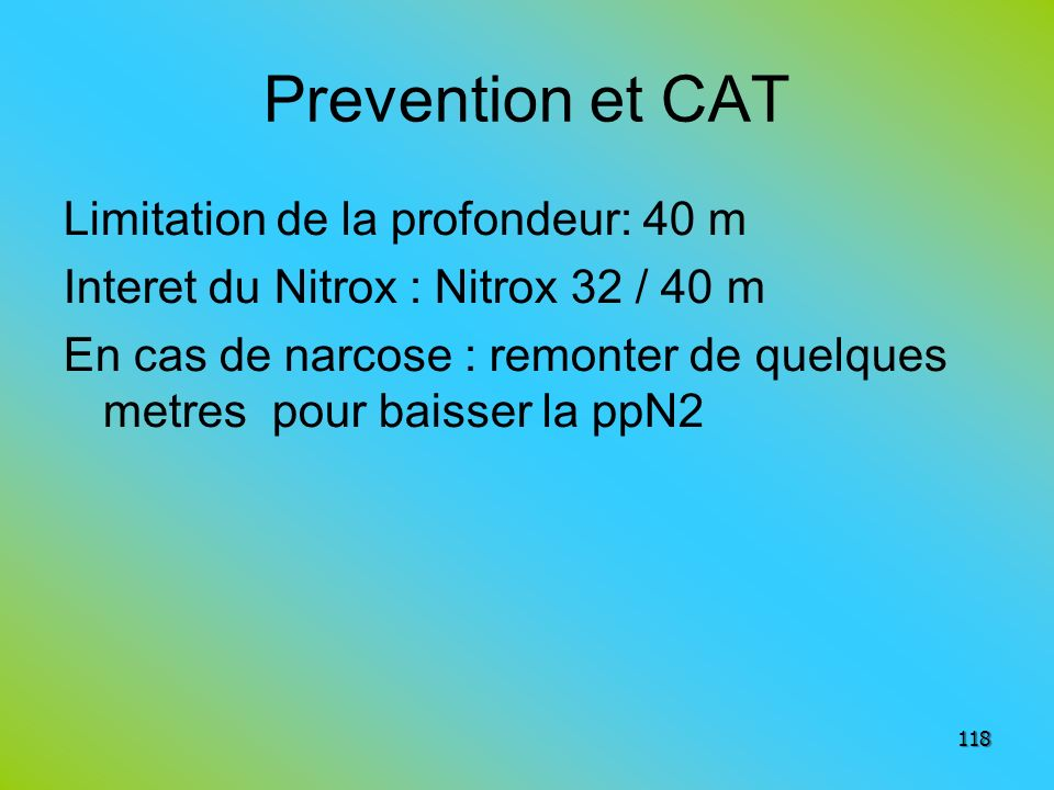 Prevention et CAT