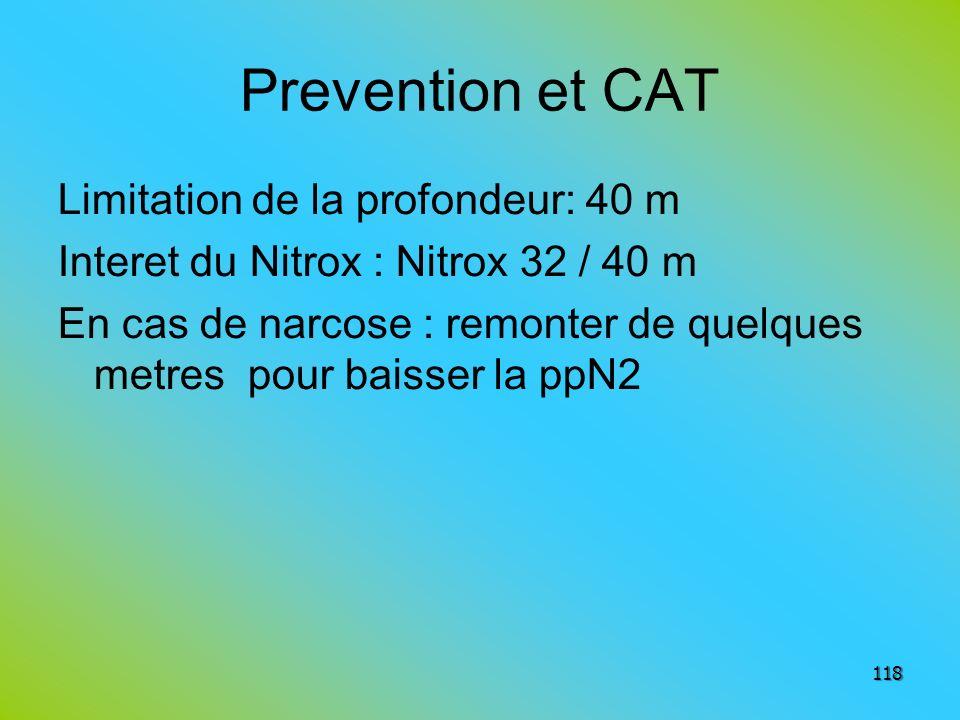 Prevention et CAT