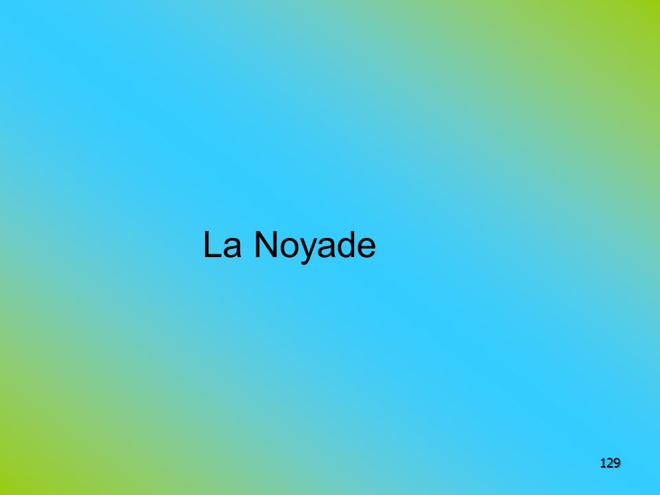 La Noyade