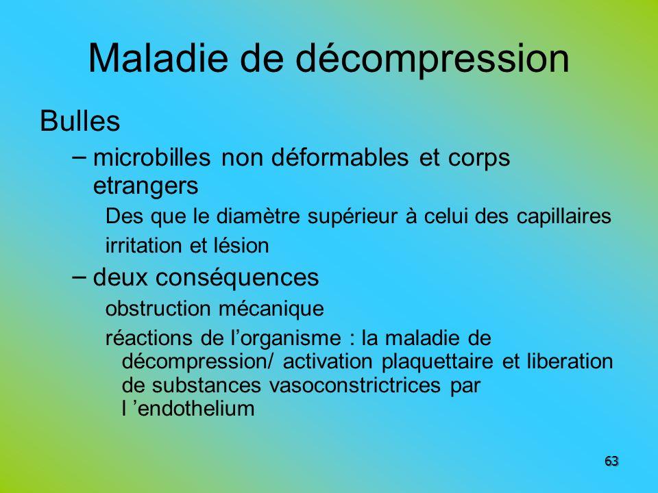 Maladie de décompression