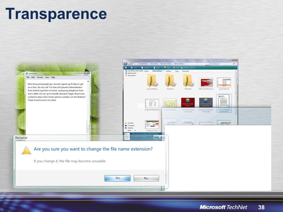 Transparence 38