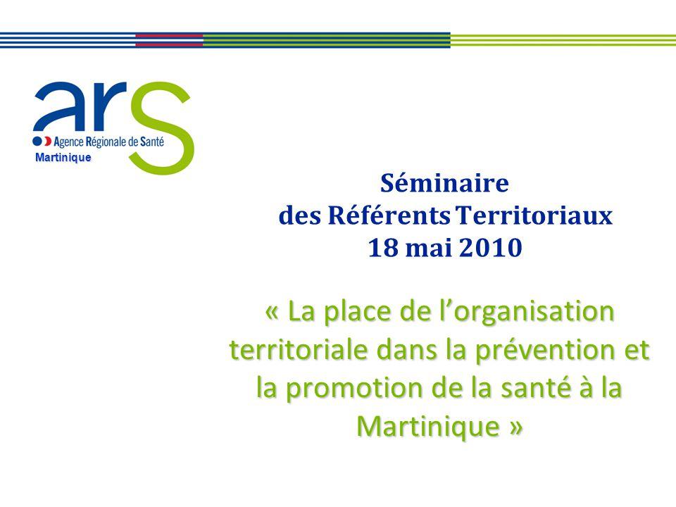 Séminaire des Référents Territoriaux 18 mai 2010