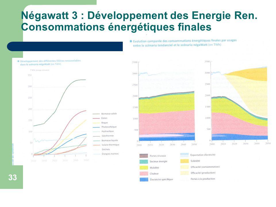 Négawatt 3 : Développement des Energie Ren