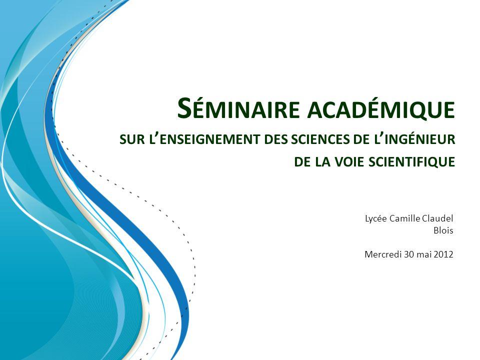 Lycée Camille Claudel Blois Mercredi 30 mai 2012