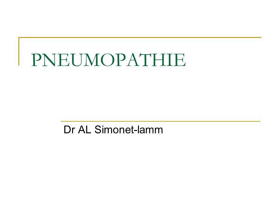 PNEUMOPATHIE Dr AL Simonet-lamm