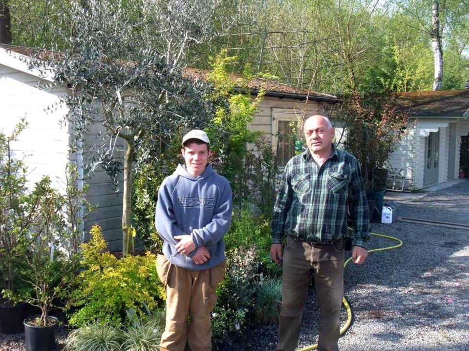 Section horticulture Visites dans l'entreprise des stagiaires par l'accompagnatrice et par le professeur de pratique professionnelle.