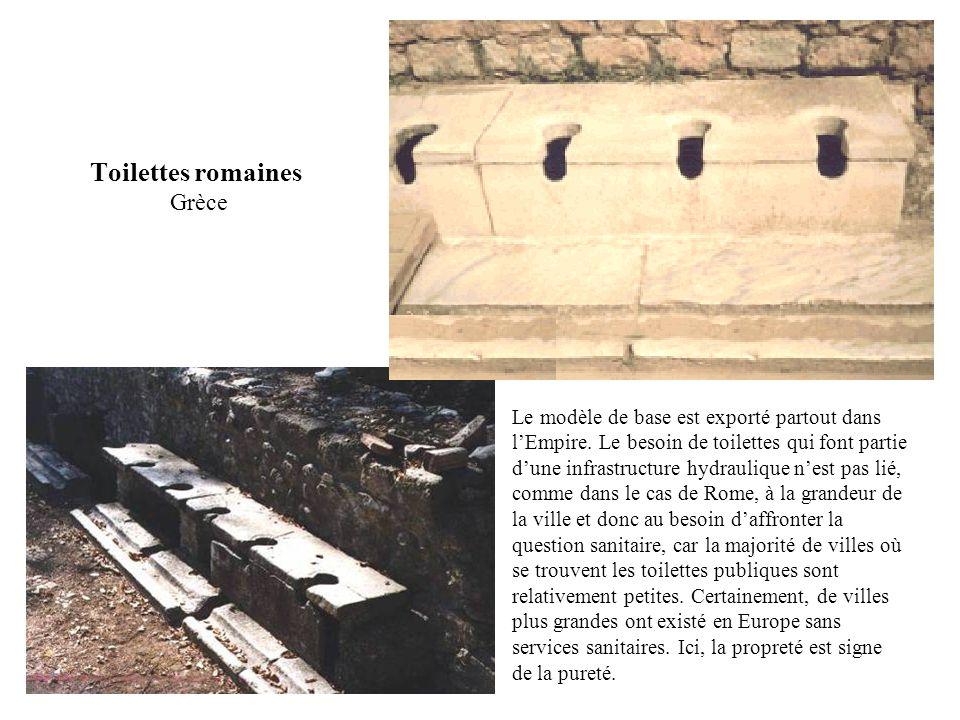 Toilettes romaines Grèce
