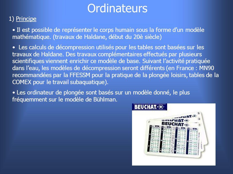 Ordinateurs 1) Principe