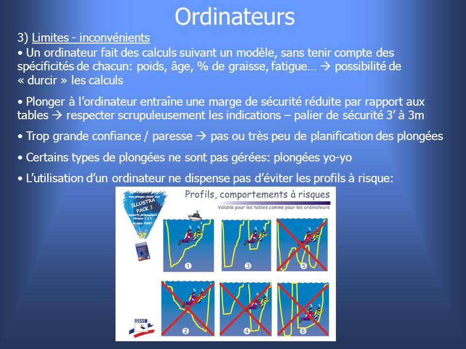 Ordinateurs 3) Limites - inconvénients