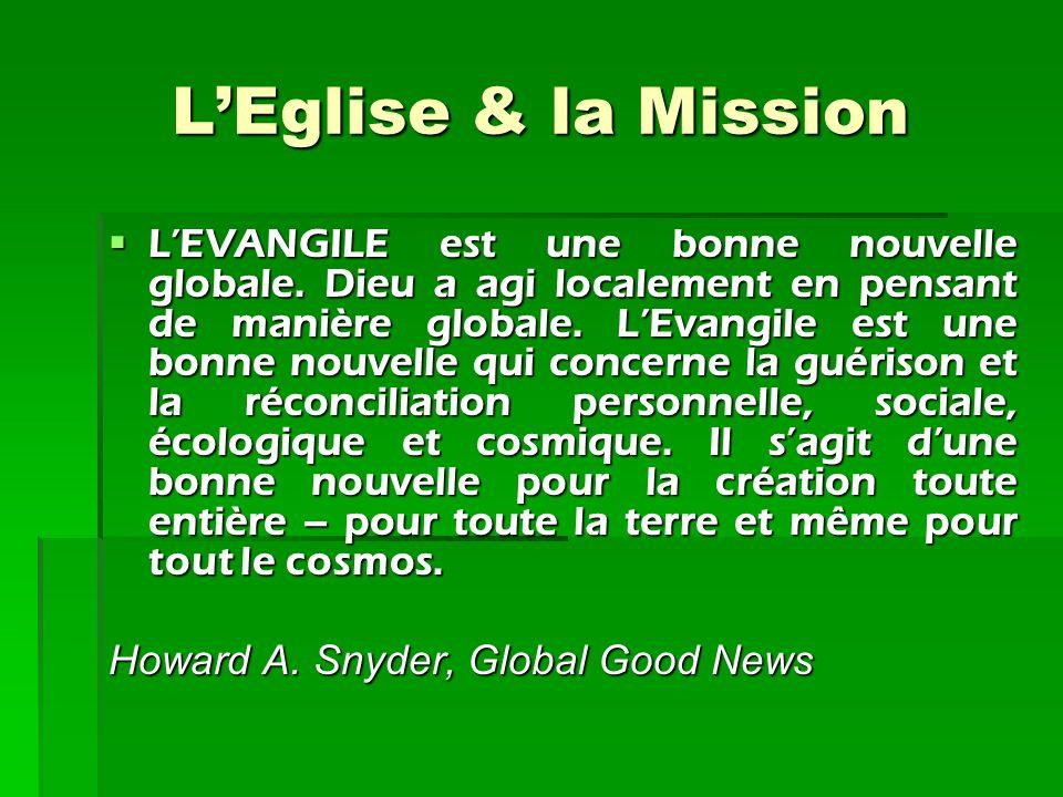 L'Eglise & la Mission