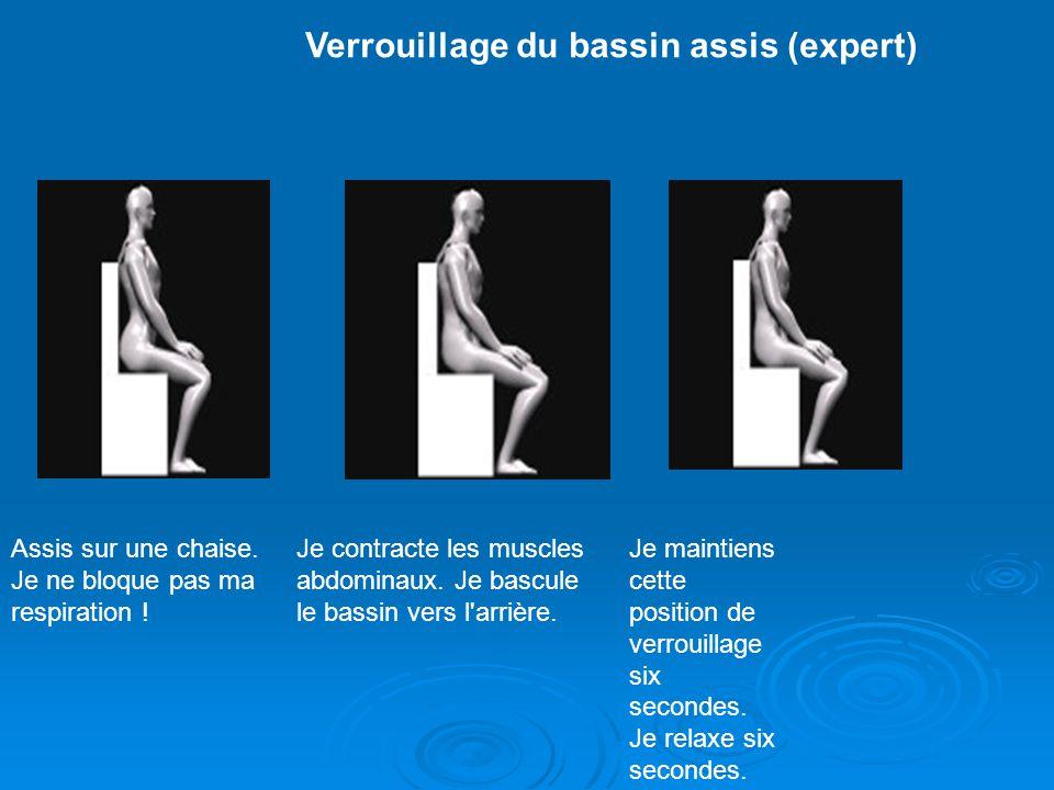 Verrouillage du bassin assis (expert)