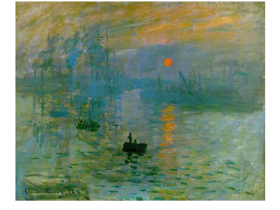 « Impression du soleil levant »