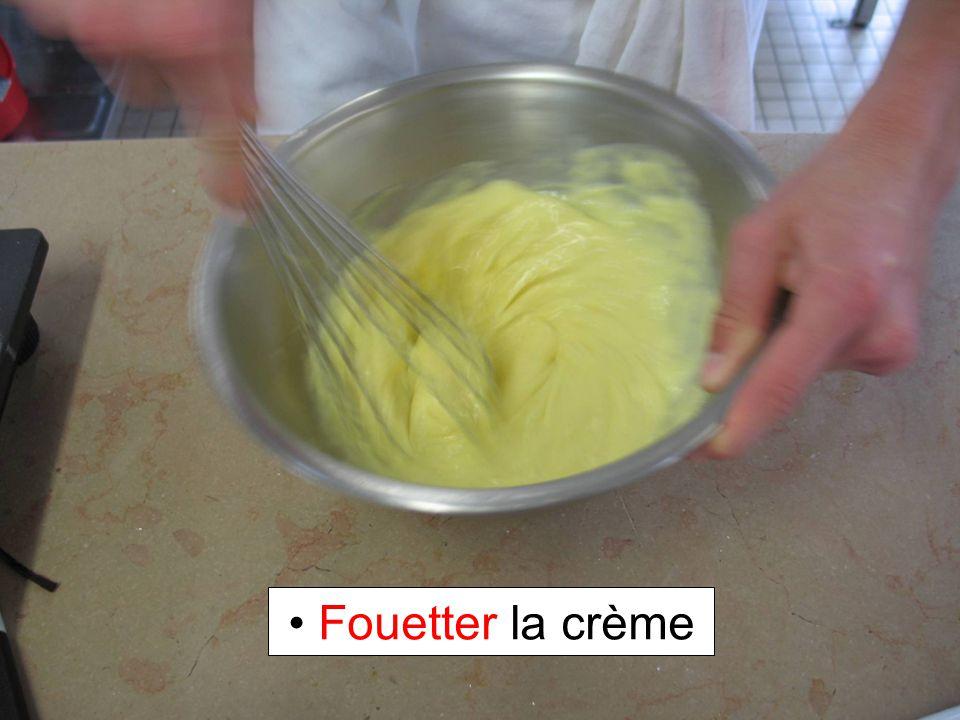 Fouetter la crème