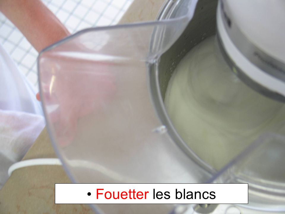 Fouetter les blancs