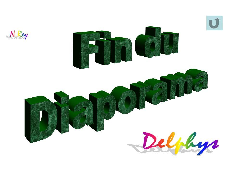 Fin du Diaporama N.Rey Delphys