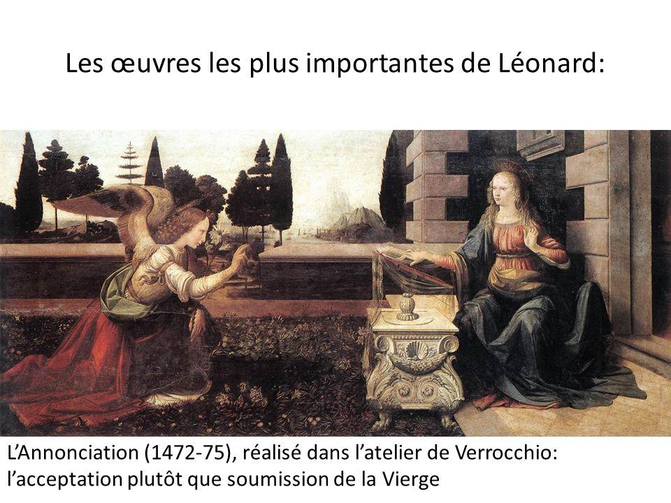 Les œuvres les plus importantes de Léonard: