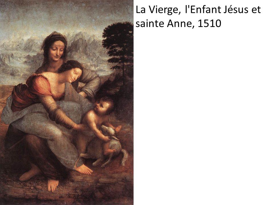 La Vierge, l Enfant Jésus et sainte Anne, 1510