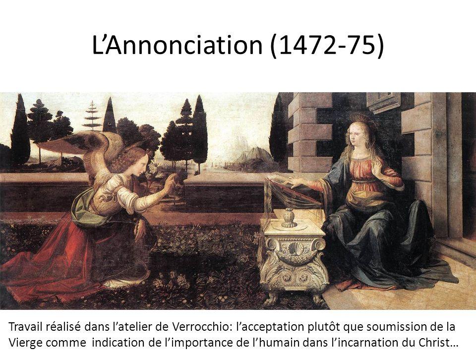 L'Annonciation (1472-75) 1472-75, Annunciation, 98x217.