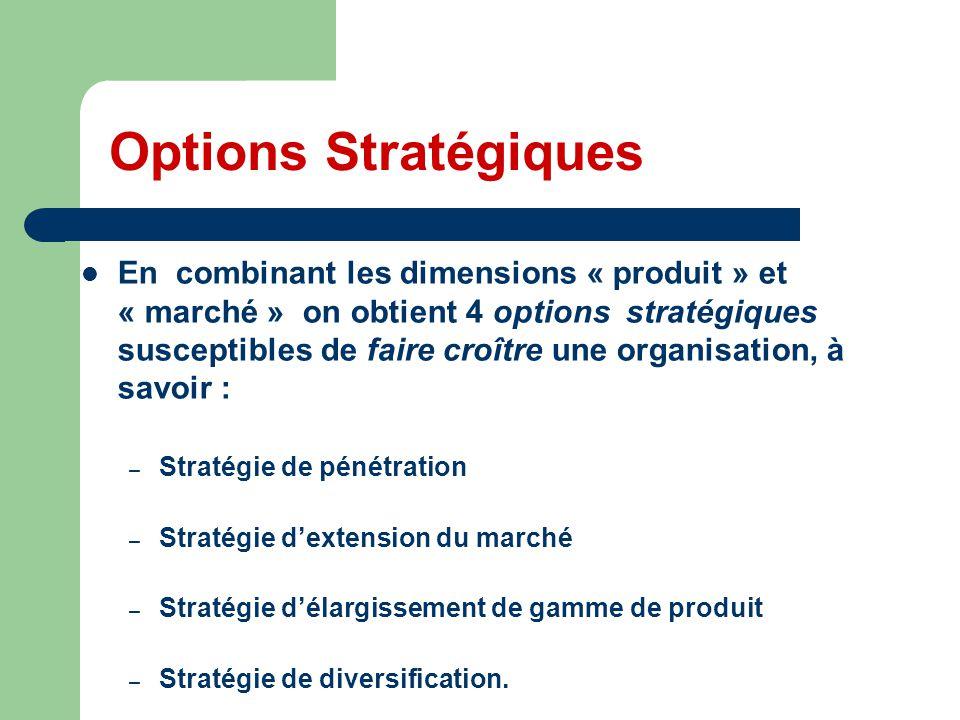 Options Stratégiques